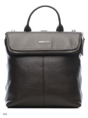 Рюкзак Alessandro Birutti. Цвет: коричневый
