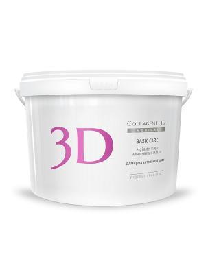 Альгинатная маска Basic Сare 1200 г Medical Collagene 3D. Цвет: белый, розовый