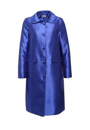 Пальто Lamania. Цвет: синий