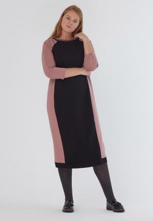 Платье W&B. Цвет: розовый