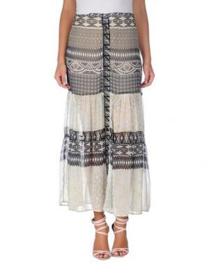 Длинная юбка HALE BOB. Цвет: светло-серый