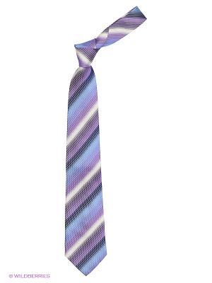 Галстук UNGARO. Цвет: голубой, сиреневый