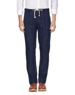 Повседневные брюки X-CAPE. Цвет: темно-синий