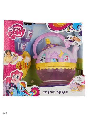 Набор посудки My Little Pony HTI. Цвет: фиолетовый, светло-желтый, фуксия, коралловый, желтый