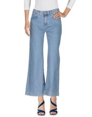 Джинсовые брюки M.I.H JEANS. Цвет: синий