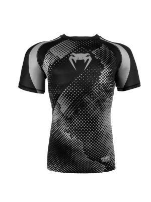 Компрессионная футболка Venum Technical Black/Grey S/S. Цвет: черный, серый