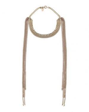 Ожерелье TOM REBL. Цвет: бронзовый