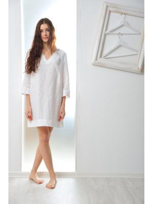 Ночная сорочка Бриджит LINO RUSSO. Цвет: белый