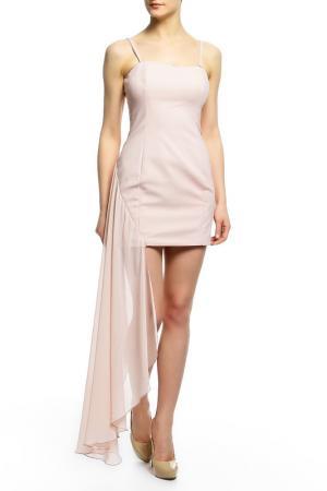 Платье Flavio Castellani. Цвет: пудровый