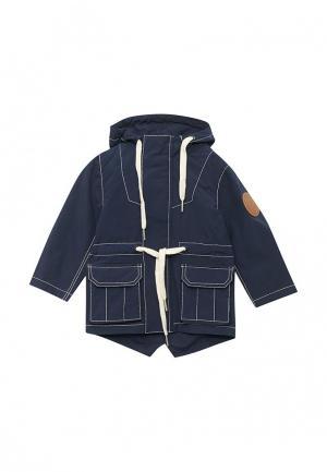 Куртка Ёмаё. Цвет: синий