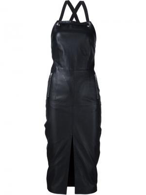 Платье Pelle Rebecca Vallance. Цвет: чёрный