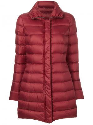 Дутая куртка Peuterey. Цвет: красный