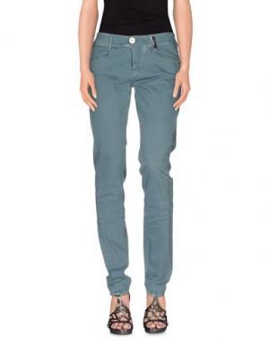 Джинсовые брюки HIGH. Цвет: бирюзовый