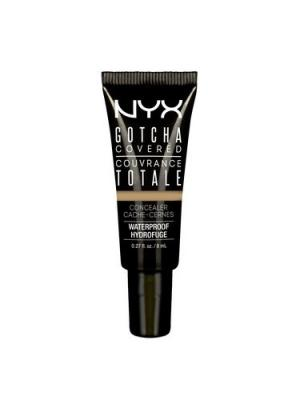 Консилер GOTCHA COVERED CONCEALER - MEDIUM OLIVE 05 NYX PROFESSIONAL MAKEUP. Цвет: оливковый