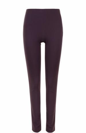 Однотонные брюки прямого кроя M Missoni. Цвет: фиолетовый