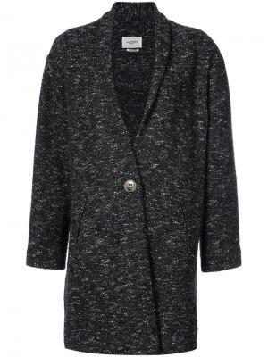 Пальто с лацканами-шалька Isabel Marant Étoile. Цвет: синий