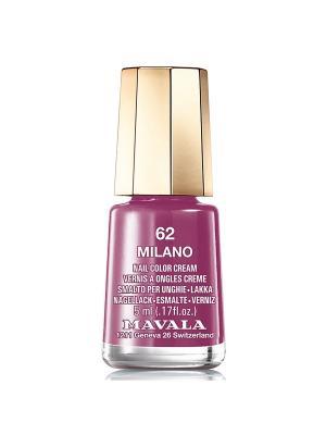 Лак для ногтей тон 62 Milano Mavala. Цвет: сливовый