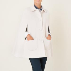 Пальто в стиле кейп ANATOLE PAUL AND JOE SISTER. Цвет: экрю