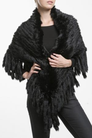 Куртка-пончо Fuchs Schmitt. Цвет: черный