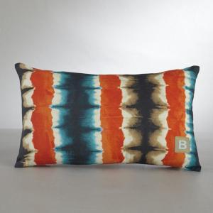 Чехол для подушки BENSIMON. Цвет: рисунок синий/коричневый