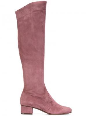 Сапоги с застежкой-молнией LAutre Chose L'Autre. Цвет: розовый и фиолетовый
