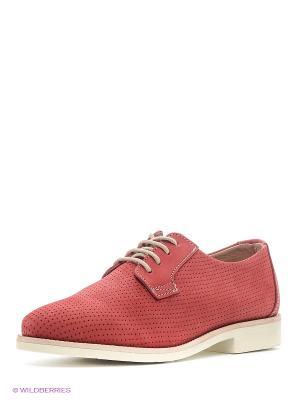 Ботинки TBS. Цвет: красный