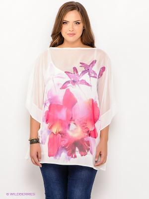 Блузка SISTE'S. Цвет: белый