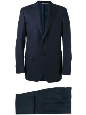 Брючный костюм Canali. Цвет: синий