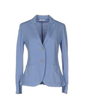 Пиджак GRAN SASSO. Цвет: пастельно-синий