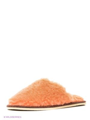 Тапочки Modis. Цвет: оранжевый