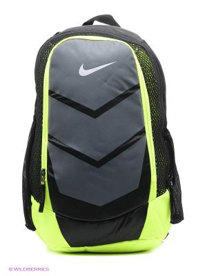 Рюкзак VAPOR SPEED BACKPACK Nike. Цвет: темно-серый, антрацитовый, серый, салатовый