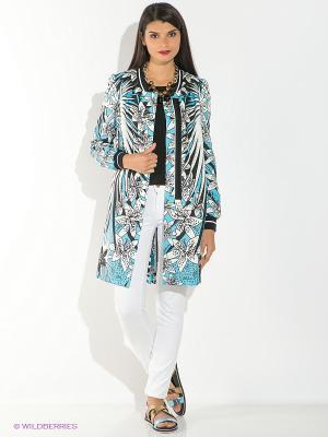 Пальто Just Cavalli. Цвет: голубой