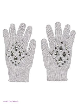 Перчатки Чудо-Кроха. Цвет: светло-серый
