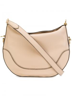 Большая полукруглая сумка Marc Jacobs. Цвет: телесный