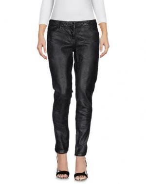 Джинсовые брюки FRENCH CONNECTION. Цвет: черный
