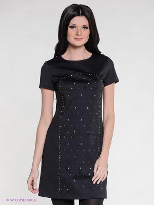 Платье Anna Rachele Jeans. Цвет: черный