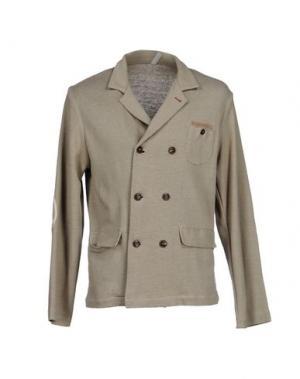 Пиджак J.W. TABACCHI. Цвет: голубиный серый