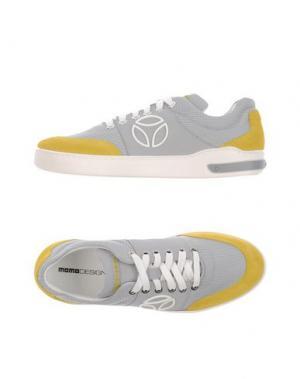 Низкие кеды и кроссовки MOMO DESIGN. Цвет: желтый