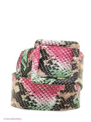 Ремень Vittorio Richi. Цвет: бежевый, розовый