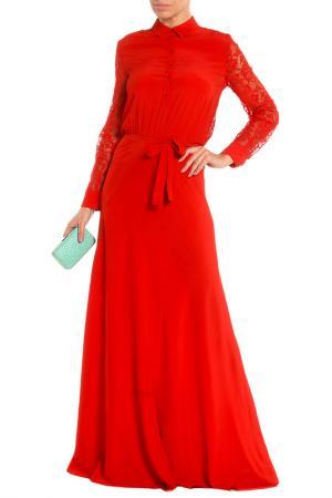 Платье вечернее Whos Who Who's. Цвет: красный