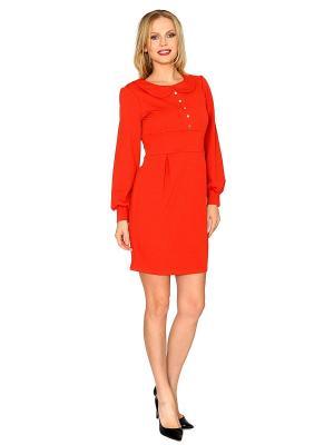 Платье MARI VERA. Цвет: терракотовый