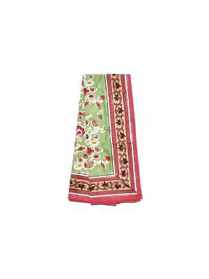 Полотенце Joy green-red /Радость зеленый-красный/ 50*80см, 100% хлопок Mas d'Ousvan. Цвет: зеленый, красный