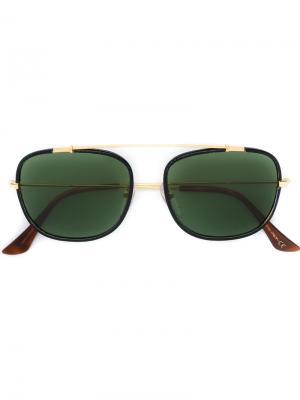 Солнцезащитные очки Primo Retrosuperfuture. Цвет: чёрный
