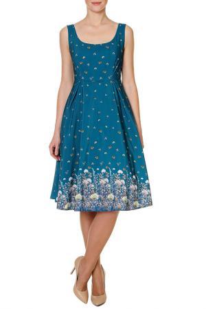 Платье SWEETME TM. Цвет: зеленый