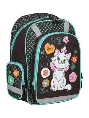 Рюкзак с эргономичной EVA-спинкой.  Marie Cat. Цвет: голубой, черный