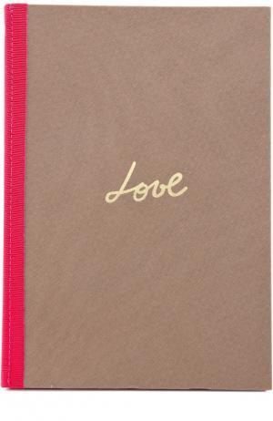 Записная книжка Seasonal And Gifts Lanvin. Цвет: розовый