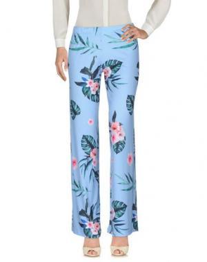 Повседневные брюки PAOLA T.. Цвет: небесно-голубой