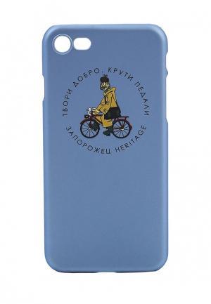 Чехол для iPhone Запорожец Heritage. Цвет: голубой