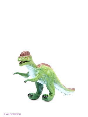 Динозавр Дилофозавр Amico. Цвет: зеленый