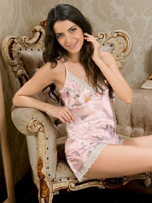 Пижама MIA-AMORE. Цвет: бледно-розовый